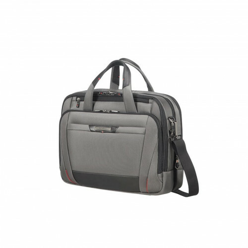 "Samsonite PRO-DLX 5 LAPTOP BAILHANDLE 15,6"", CG7-005 in de kleur 08 magnetic grey 5414847851476"