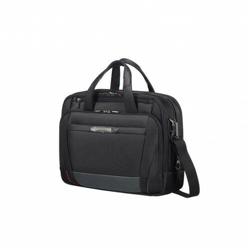 "Samsonite PRO-DLX 5 LAPTOP BAILHANDLE 15,6"", CG7-005 in de kleur 09 black 5414847851483"