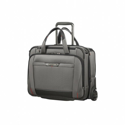 "Samsonite PRO-DLX 5 BUSINESSCASE-WH.15,6""EXP, CG7-012 in de kleur 08 magnetic grey 5414847851599"