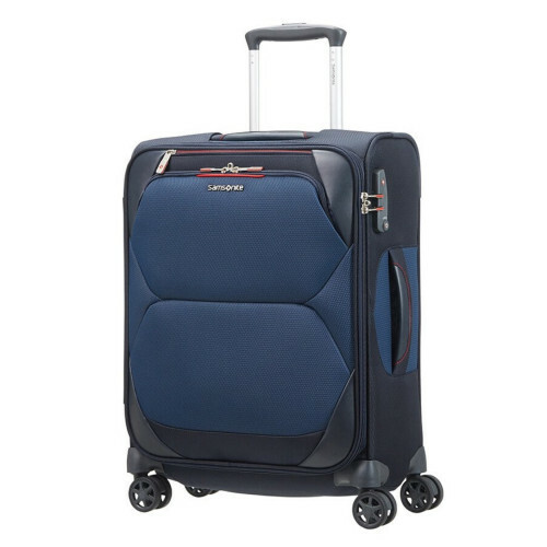 Samsonite DYNAMORE SPINNER 55 L40, CH4-004 in de kleur 01 blue 5414847854521