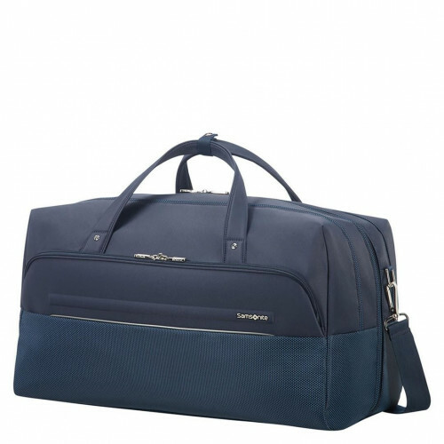 Samsonite B-LITE ICON DUFFLE 55, CH5-010 in de kleur 01 dark blue 5414847855740