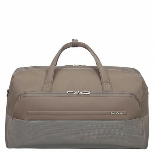 Samsonite B-LITE ICON DUFFLE 55, CH5-010 in de kleur 05 dark sand 5414847855771