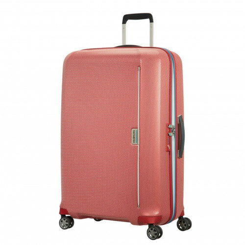 Samsonite MIXMESH SPINNER 75, CH6-003 in de kleur 00 red-pacific blue 5414847856310
