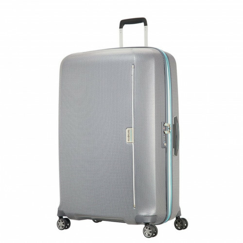 Samsonite MIXMESH SPINNER 81, CH6-004 in de kleur 08 grey-capri blue 5414847856341
