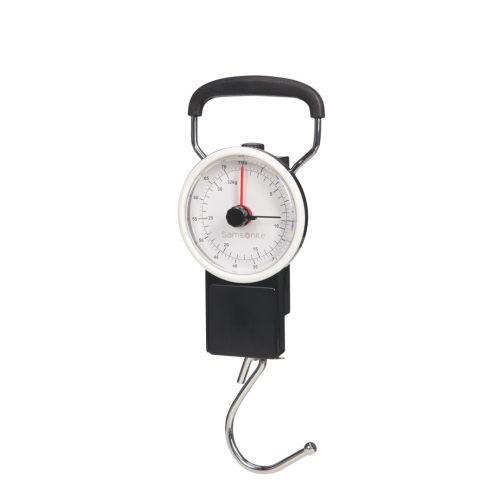 Samsonite LUGGAGE ACC MANUAL SCALE, CO1-032 in de kleur 09 black 5414847953439