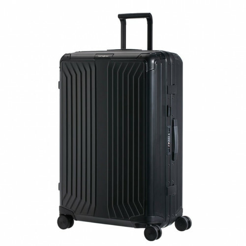 Samsonite LITE-BOX ALU SPINNER 69, CS0-002 in de kleur 09 black 5414847961564