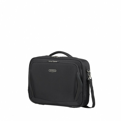 Samsonite X-BLADE 4.0 LAPTOP SHOULDER BAG, CS1-017 in de kleur 09 black 5414847964091