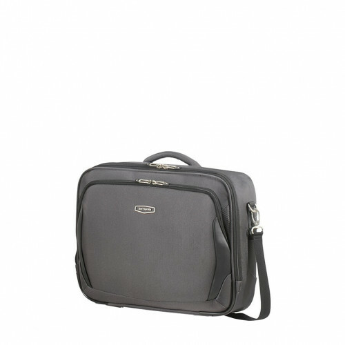 Samsonite X-BLADE 4.0 LAPTOP SHOULDER BAG, CS1-017 in de kleur 18 grey-black 5414847964619