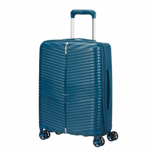Samsonite DARTS SPINNER 55, CW5-001 in de kleur 01 petrol blue 5400520003973
