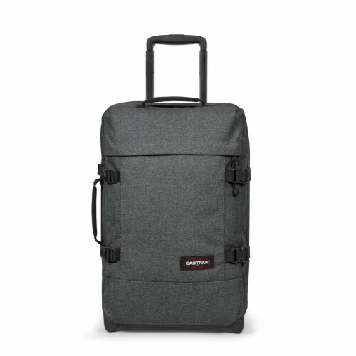 Eastpak AUTHENTIC TRAVEL TRANVERZ S, EK61L in de kleur 77h black denim 5400597606879
