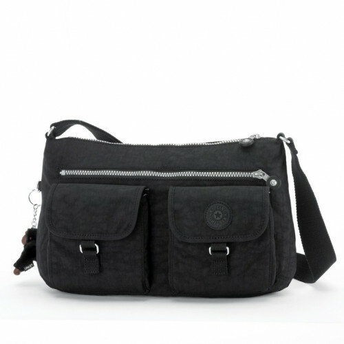Kipling BASIC ARKAN M, K13180 in de kleur 900 black 5413405064693
