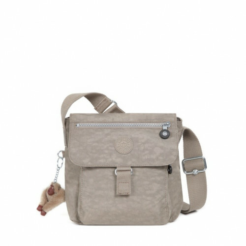 Kipling BASIC NEW RAISIN, K13611 in de kleur 828 warm grey 5415065879747