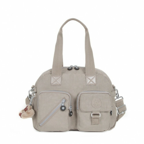 Kipling BASIC DEFEA, K13636 in de kleur 828 warm grey 5415065879846