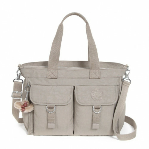 Kipling BASIC ELISE, K15060 in de kleur 828 warm grey 5415065880620