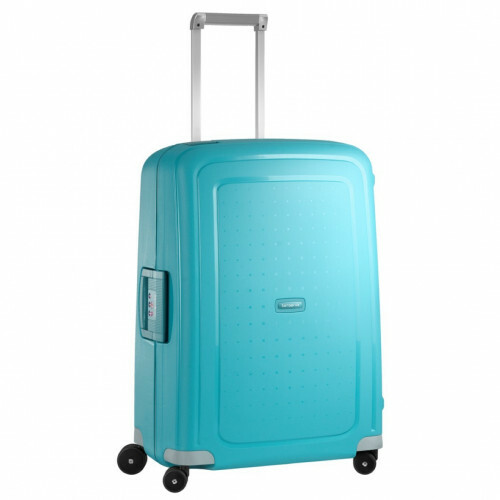 Samsonite S'CURE SPINNER 69, 10U-001 in de kleur 11 aqua blue 5414847784408