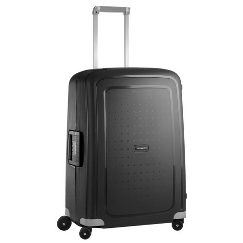 Samsonite S'CURE SPINNER 75, 10U-002 in de kleur 09 black 5414847326530