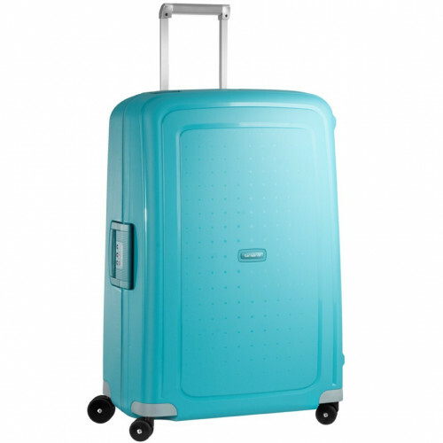 Samsonite S'CURE SPINNER 75, 10U-002 in de kleur 11 aqua blue 5414847784460