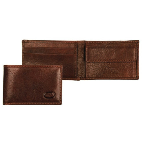 The Bridge STORY UOMO MINI BILLFOLD, 013006 in de kleur 14 marrone 8033748003448