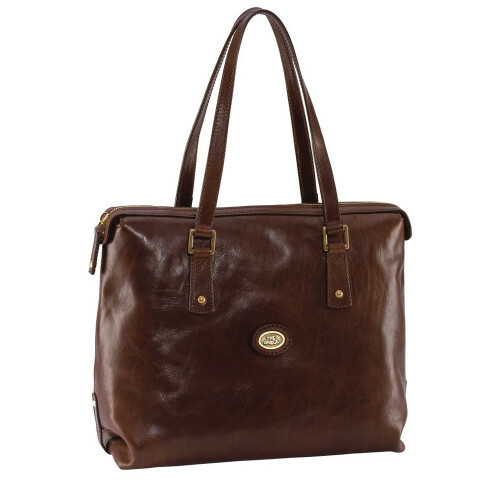 The Bridge STORY DONNA LADIES' HANDBAG Shopper, 042441 in de kleur 14 marrone 8033748209338