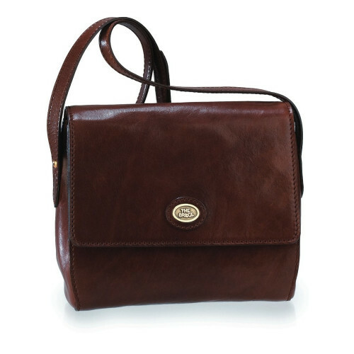 The Bridge STORY DONNA HANDBAG 23 CM, 044210 in de kleur 14 marrone 8033748034381