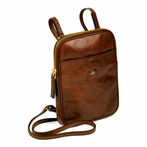 The Bridge STORY UOMO SMALL MESSENGER, 052538 in de kleur 14 marrone 8033748046445