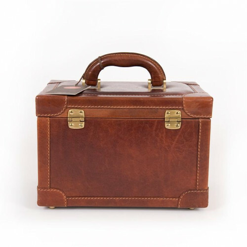 The Bridge STORY VIAGGIO HARDCASE SMALL, 075101 in de kleur 14 marrone