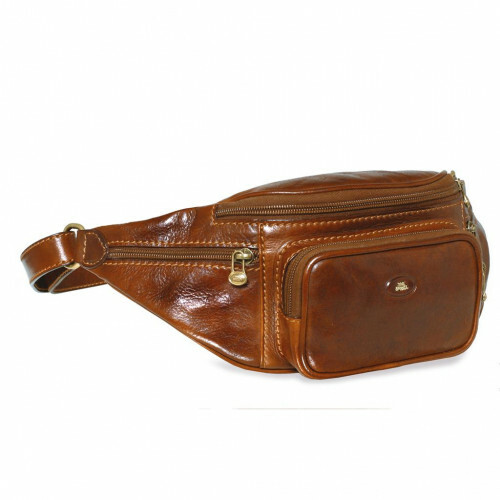 The Bridge STORY VIAGGIO WAIST POUCH, 078001 in de kleur 14 marrone 8033748056901