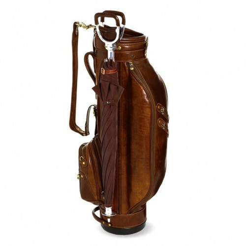 The Bridge STORY VIAGGIO GOLFBAG S, 078123 in de kleur 14 marrone 8033748057090