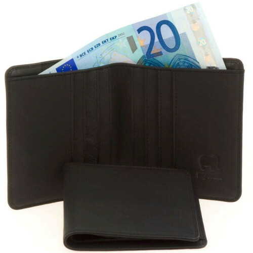 Mywalit SOFT STANDARD WALLET, 132 in de kleur 3 black 5051655022409