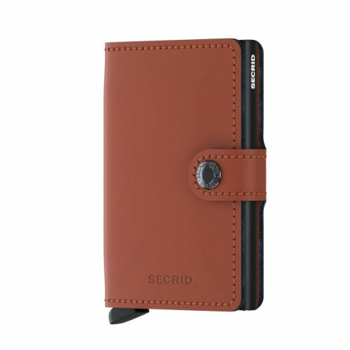 Secrid Miniwallet Matte MM matte brick-black