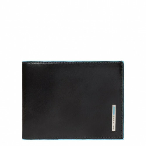 Piquadro BLUE SQUARE MEN'S WALLET, PU1241B2 in de kleur N nero 8024671029193