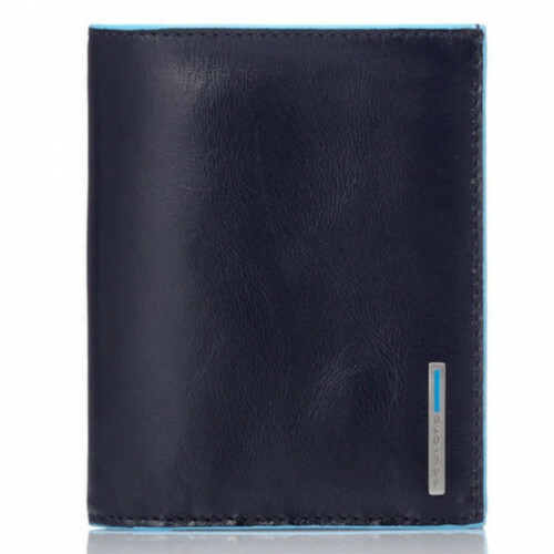 Piquadro BLUE SQUARE MEN'S COMBI WALLET, PU1740B2 in de kleur BLU2 blu 8024671390842