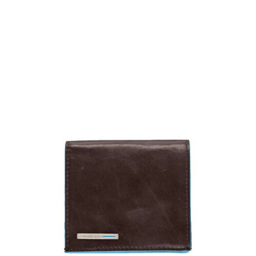 Piquadro BLUE SQUARE MEN'S WALLET, PU1741B2 in de kleur MO mogano 8024671085939