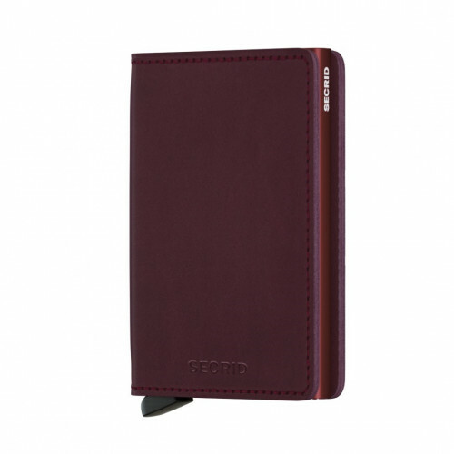 Secrid SLIMWALLET SLIMWALLET, SO in de kleur bordeaux 8718215285571