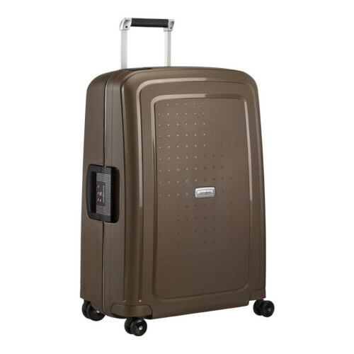 Samsonite S'CURE DLX SPINNER 69, U44-001 in de kleur 43 metallic bronze 5414847590146