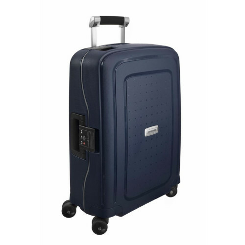 Samsonite S'CURE DLX SPINNER 55, U44-003 in de kleur 01 midnight blue 5414847354816