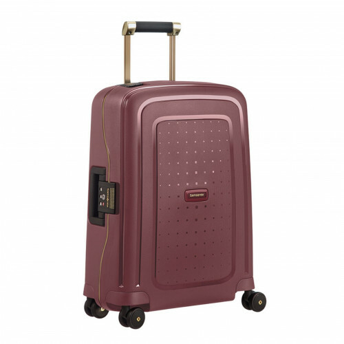Samsonite S'CURE DLX SPINNER 55, U44-003 in de kleur 20 burgundy-gold 5414847884993