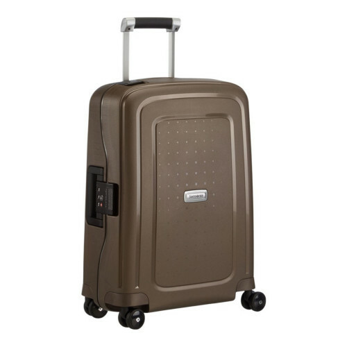 Samsonite S'CURE DLX SPINNER 55, U44-003 in de kleur 43 metallic bronze 5414847590139
