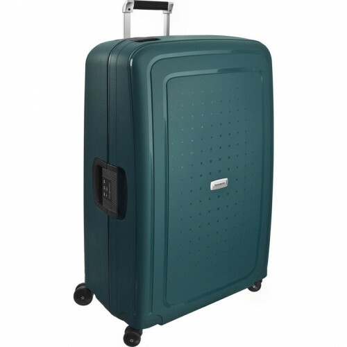 Samsonite S'CURE DLX SPINNER 81, U44-004 in de kleur 04 metallic green 5414847460326