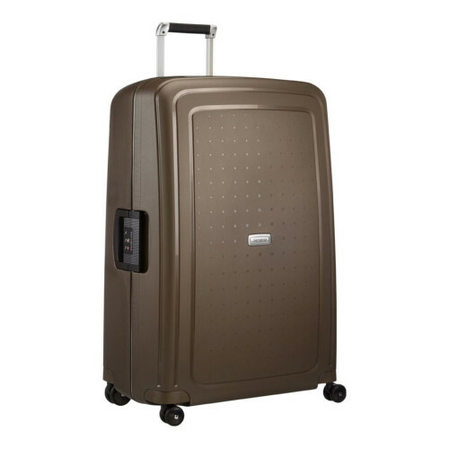 Samsonite S'CURE DLX SPINNER 81, U44-004 in de kleur 43 metallic bronze 5414847590160