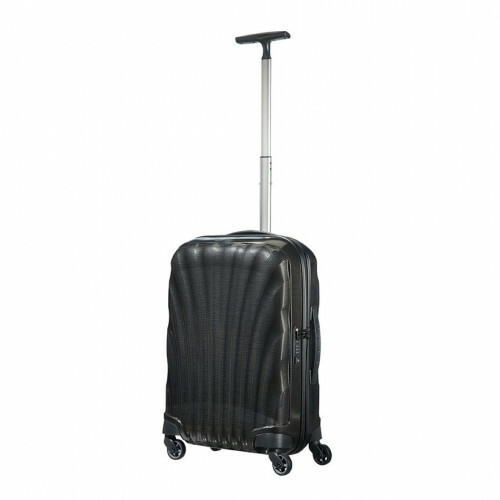 Samsonite COSMOLITE SPINNER 55, V22-302 in de kleur 09 black 5414847651717