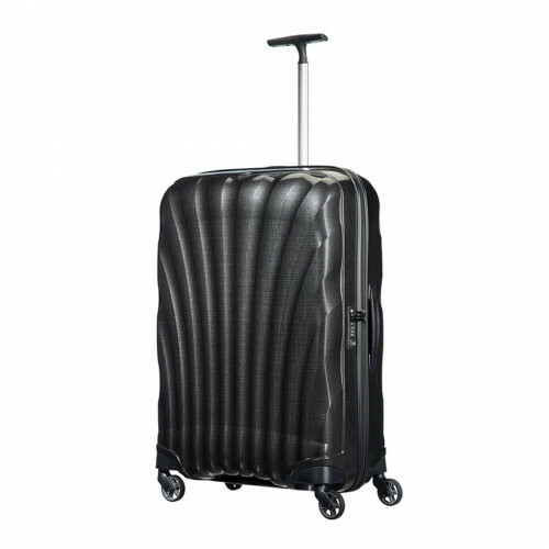 Samsonite COSMOLITE SPINNER 75, V22-304 in de kleur 09 black 5414847651830