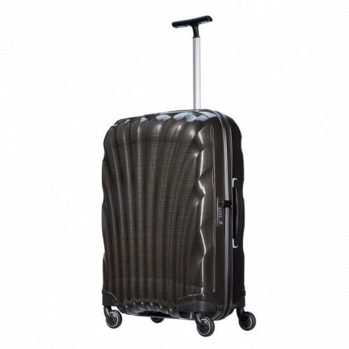Samsonite COSMOLITE SPINNER 69, V22-306 in de kleur 09 black 5414847651779
