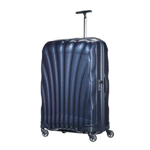 Samsonite COSMOLITE SPINNER 81, V22-307 in de kleur 31 midnight blue 5414847651908