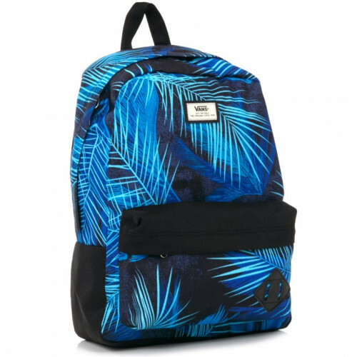 Vans SCHOOLBAGS OLD SKOOL 2, VONI in de kleur jeg black acid palm 887682318155