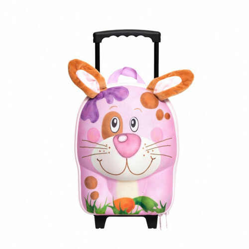 Okiedog WILDBAG Kindertrolley, WILDPACK TROLLEY S in de kleur rabbit 4897024084880