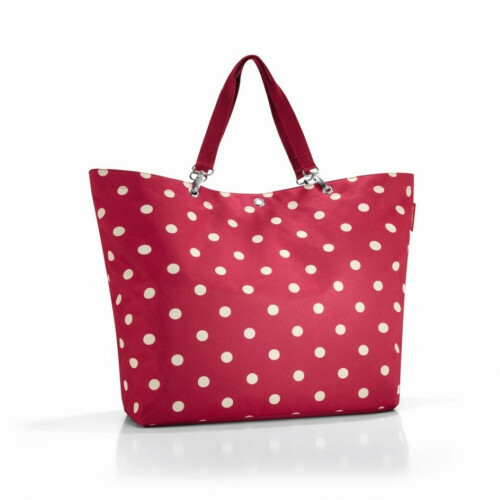 Reisenthel SHOPPER XL, ZU in de kleur 3014 ruby dots 4012013559389