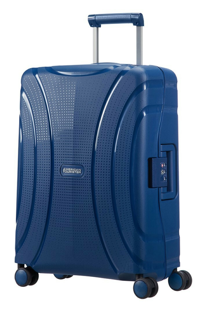 American Tourister Lock N Roll Spinner 55 31 Nocturne
