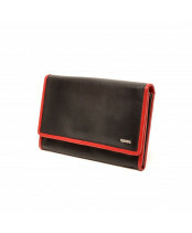 Berba / LADIES WALLET / 001-303_15 black - red