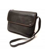 Berba / FLAP BAG LARGE / 005-575_14 black - taupe